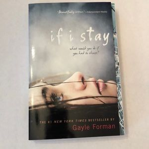 Gayle Forman If I Stay Young Adult Teen Book